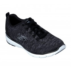 SKECHERS 13062 BKW FLEX APPEAL