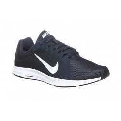 NIKE 908984 400 DOWNSHIFTER 8 MIDNIGHT NAVY/WHITE