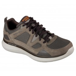 SKECHERS 52905 BRN RELAXED FIT: QUANTUM FLEX BRN