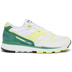 SAUCONY AZURA WHITE/GREEN/LIME S70437-16