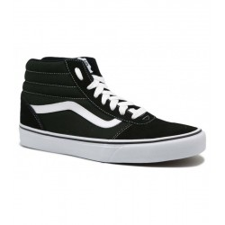 Vans MN WARD HI (SUEDE CANVAS) BLACK/WHITE VN0A36ENC4R1