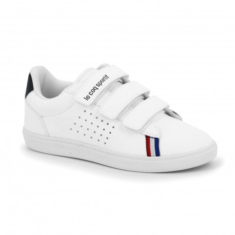 le coq sportif 1920231 COURTSTAR PS SPORT BBR OPTICAL WHITE/DRESS 1920231 OPTICAL WHITE