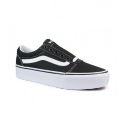 Vans WARD PLATAFORM CANVAS BLACK/WHITE VN0A3TLC1871