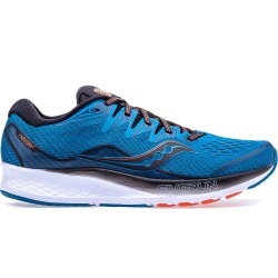 SAUCONY S20514-25 RIDE ISO 2 BLACK/BLUE S2051425
