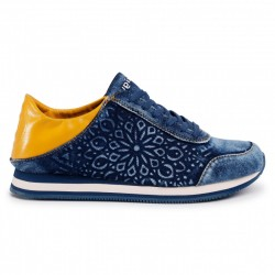 Desigual 20SSKD0 5008 SHOES PEGASO DENIM DARK BLUE