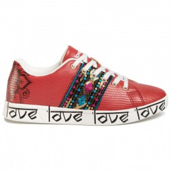 Desigual SHOES COSMIC EXOTIC ROJO 20SSKP26 3061