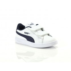 Puma 36517304 SMASH V2 WHITE/PEACOAT 365173 04