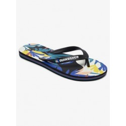 QUICK-SILVER MOLOKAI TROPICAL FLOW BLACK/WHITE AQYL100941 XKWB