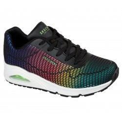 Skechers 155131 BKMT UNO - EYE CATCHING
