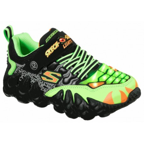 Skechers 400110L BKLM SKECH-O-SAURUS LIGHT