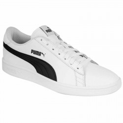 PUMA 36521501 SMASH V2 L WHITE-BLACK