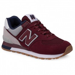 NEW BALANCE ML574GRD BURGUNDY/RAIN CLOUD