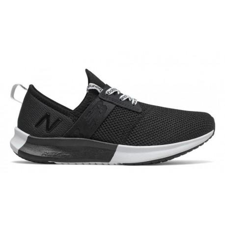New Balance LUX LOGO BLACK/WHITE WNRG LK2