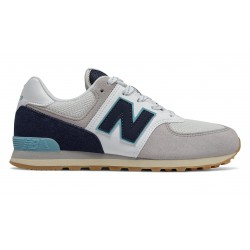 New Balance WHITE/PIGMENT GC574 SOU