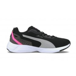 Puma SPACE RUNNER BLACK-WHITE-LUMIN 19372307