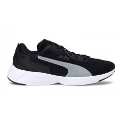 Puma SPACE RUNNER BLACK-WHITE 19372301