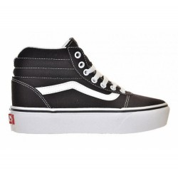 Vans WM WARD HI PLATFORM (CANVAS) BLACK/TRUE WHITE VN0A4BUC1WX1