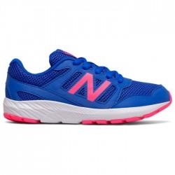 New Balance FOOTWEAR RUNNING COBALT/ALPHA PINK YK570 BP2