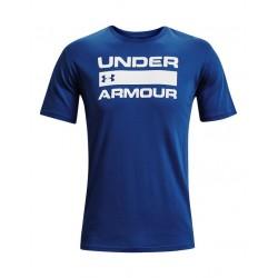 Under Armour UA TEAM ISSUE WORDMARK SS BLU 1329582 432