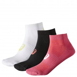 Asic 3PPK PED SOCK COLOR ASSORTED 128066 0040