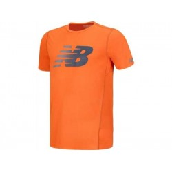 New Balance CAMISETA MC HEATHER GRAPHIC MT73082 DYT