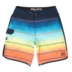 Billabong H1BS08 60 73X STRIPE 19 ORANGE