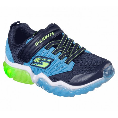 SKECHERS 90720L NVBL S LIGHTS: RAPID FLASH