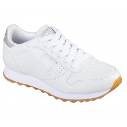 SKECHERS 699 WHT OLD SCHOOL COOL