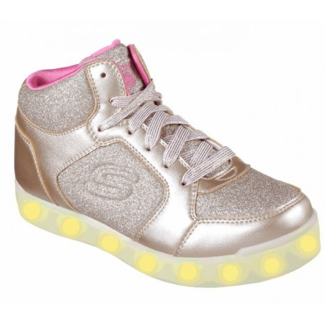 SKECHERS 10940L GLD ENERGY LIGHTS: E-PRO - GLITTER GLOW