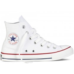 Converse CHUCK TAYLOR ALL STAR - HI OPTICAL WHITE M7650C