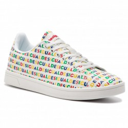 Desigual SHOES COSMIC LOGOS BLANCO 19SSKP15 1000