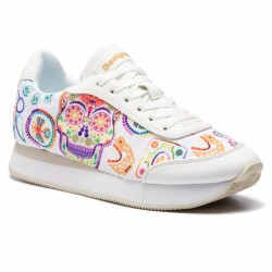 Desigual SHOES GALAXY SKULL BLANCO 19SSKF08 1000