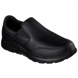 Skechers WORK RELAXED FIT FLEX ADVANTAGE 77071EC BLK
