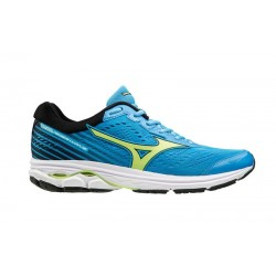 Mizuno WAVE RIDER AZUREBLUE/SHARPGREEN/BLACK J1GC1831 35