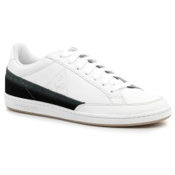 le coq sportif COURTCLAY TRICOLORE OTICAL WHITE/BLACK 1910282