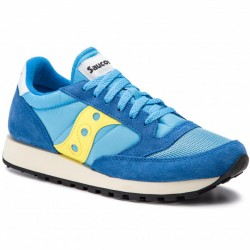 SAUCONY S70368-46 LIFESTYLE JAZZ ORIGINAL VINTAGE BLUE/YELLOW S70368-46 BLUE/YELLOW